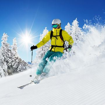 Picture of Adult Ski Half Day Lesson/Lift/Rental