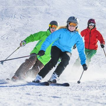 Picture of Adult Ski Half Day Refresh Lesson Only
